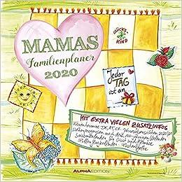 Mamas Familienplaner 2020 Broschurenkalender Amazon Fr