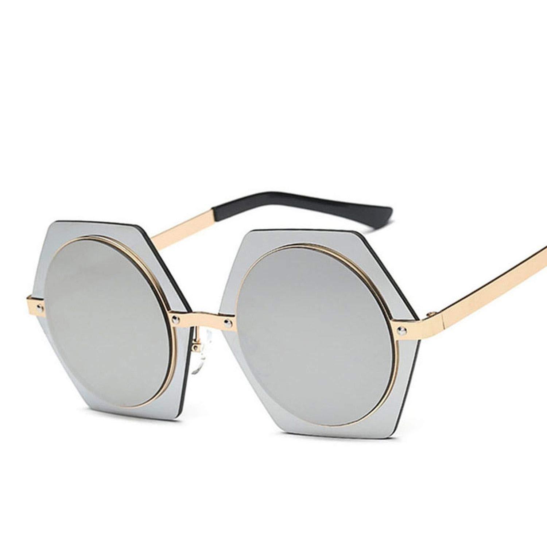 Amazon.com: Gafas de sol grandes vintage hexagonales para ...