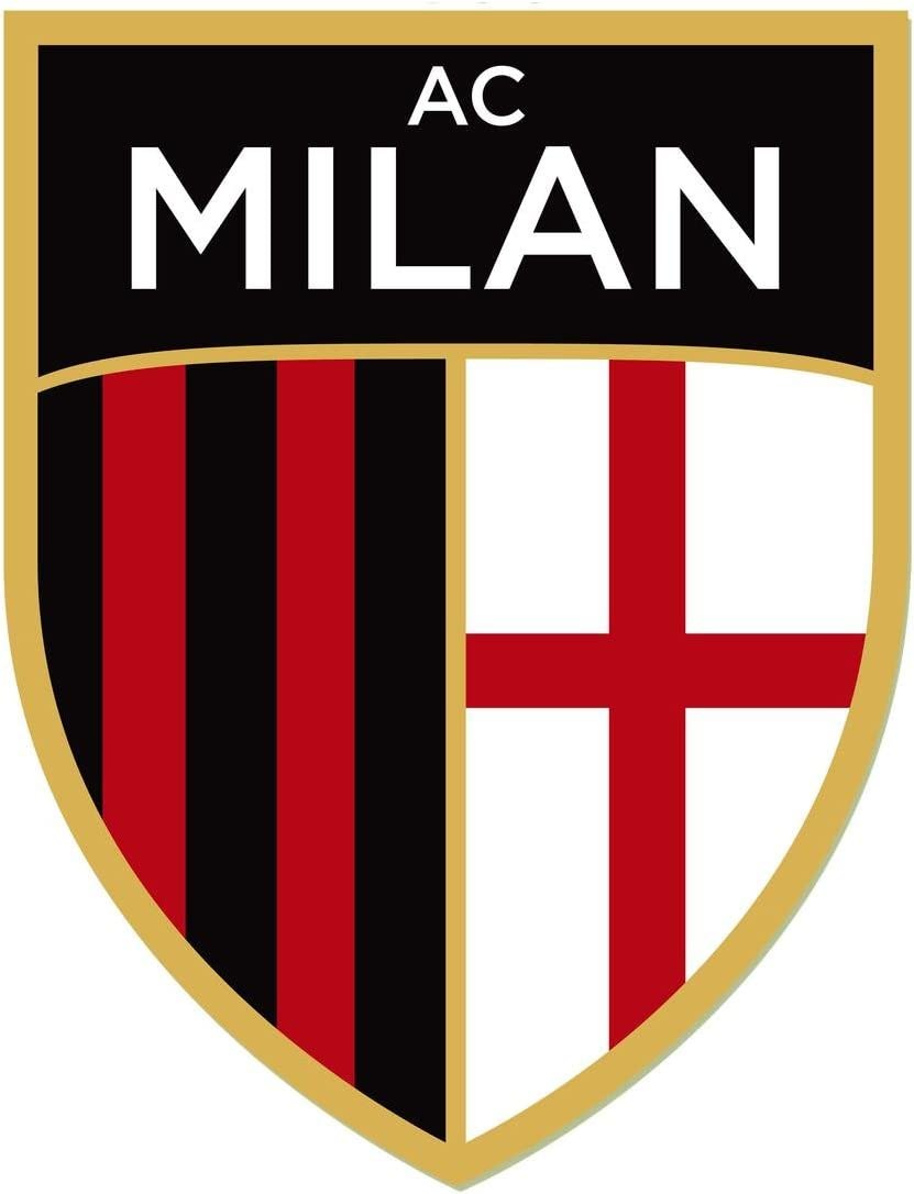 Amazon Com Gifts Delight Laminated 24x27 Poster A C Milan Logo A C Milan Symbol Meaning History And Evolution Posters Prints