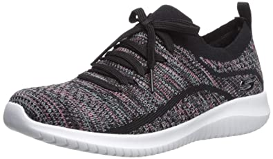 a0f695a2483ad Skechers Women s Ultra Flex-Statements Sneaker Black Multi 5 ...
