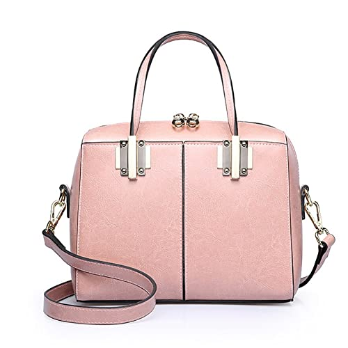 c3b4fcf61a59 Amazon | 【G-AVERIL】新型女子バッグ レザー牛革 ハンドバッグ ボストン ...