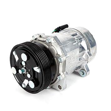 PAG46 Compresor de aire acondicionado 1076012 para Au di A3 Se at F ord V W Aire acondicionado compresor: Amazon.es: Coche y moto