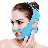 Semme Adelgazante Facial Vendajes Máscara para Adelgazar Cara Reafirmante Piel,Papada Reductor y Antiarrugas Cuidado Facial Faja Piel Compacto V-Line