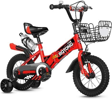 JINHH Bicicleta, 2-3-4-6 Años Niño Niña Bicicleta 12-14-16 ...