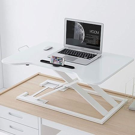 Tavoli Pieghevoli Per Stand.Xjy Stand Up Computer Desk Lift Pieghevole Stand Per Computer