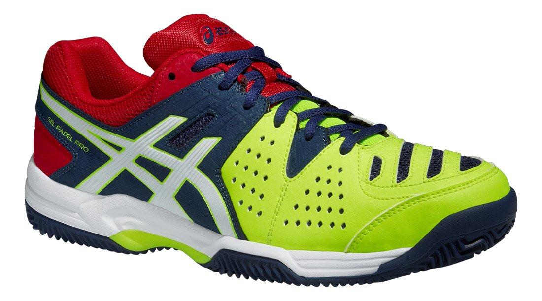 Asics Gel Padel Pro 3 SG - Zapatillas unisex, color azul marino / blanco / amarillo, talla 46,5: Amazon.es: Deportes y aire libre