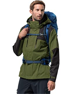 Amazon.com: Jack Wolfskin Mens Cloudburst Jacket: Sports ...
