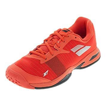 61b68fc62b93a3 Babolat Junior Jet All Court Tennis Shoes, Orange.com (Kids' Size 2.5