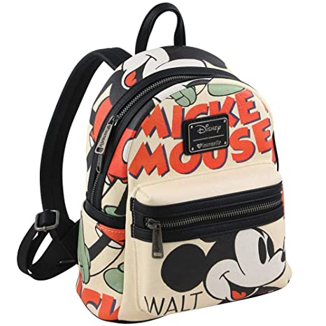 0718888d31dc Loungefly Mickey Mouse Classic Mini Backpack  Amazon.ca  Clothing    Accessories