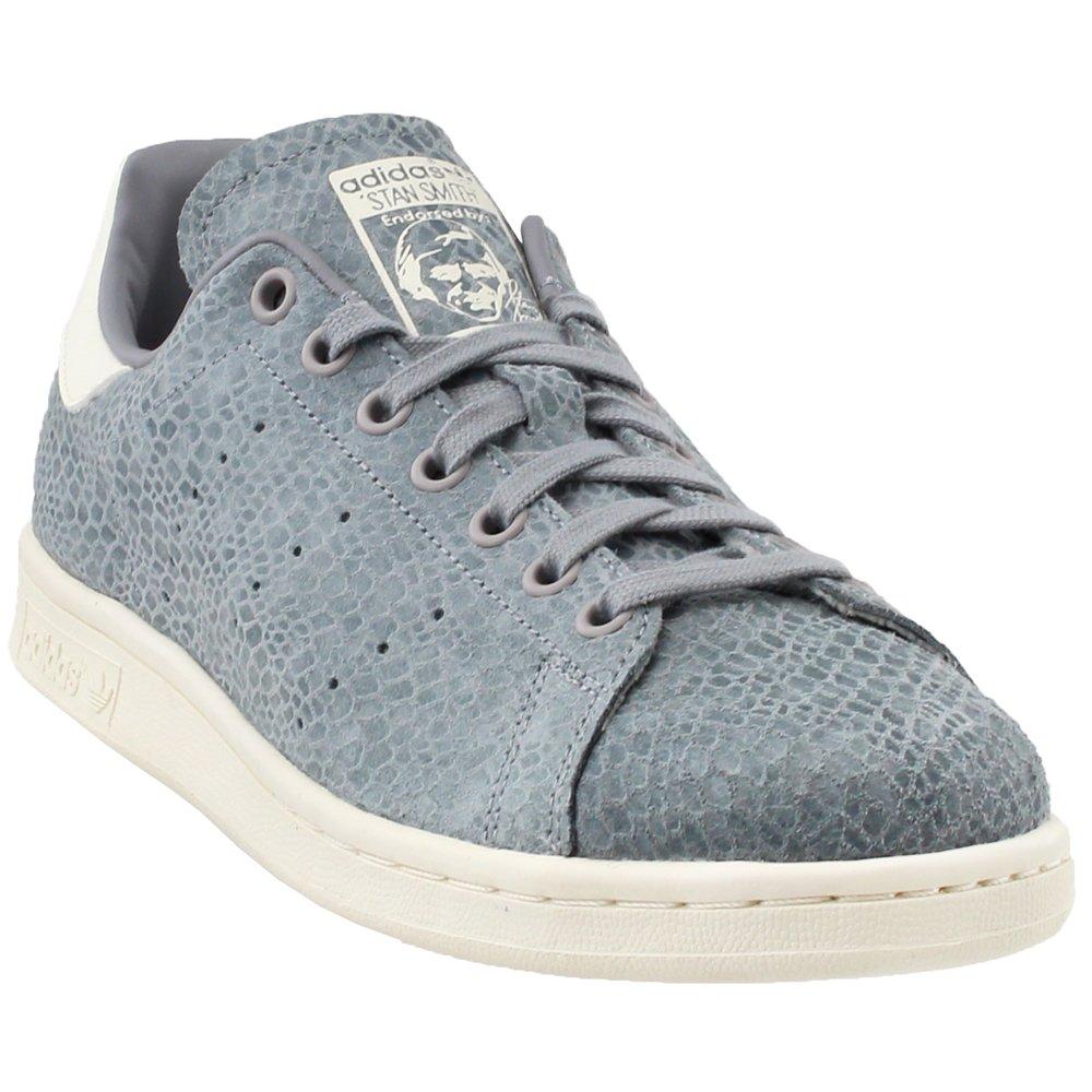 Grey Adidas ORIGINALS Men's Stan Smith shoes