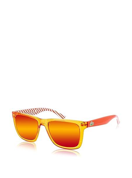 Lacoste Gafas de Sol L750S-800 (54 mm) Naranja: Amazon.es ...
