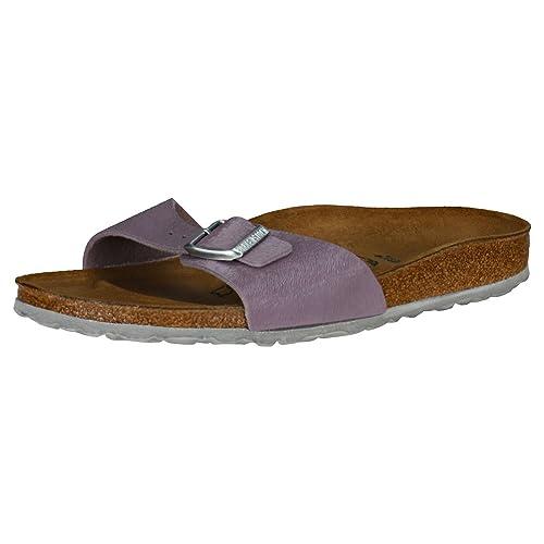 761bda563e99fd Birkenstock Madrid Birko-Flor Narrow Fit Womens Sandals Purple - 36 EU