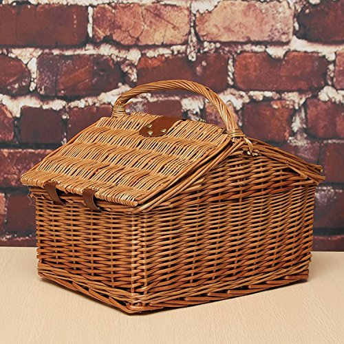 Handmade Portable Storage Baskets Handlevintage Suitable For Families Picnic,shopping,gift Wrapping,egg Basket,fruit Basket.