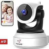 Victure 720P HD WLAN IP Kamera,Überwachungskamera mit Nachtsicht, Bewegungserkennung, Zwei-Wege Audio,Sicherheitskamera Home Indoor-Kamera für Haustier/Baby Monitor