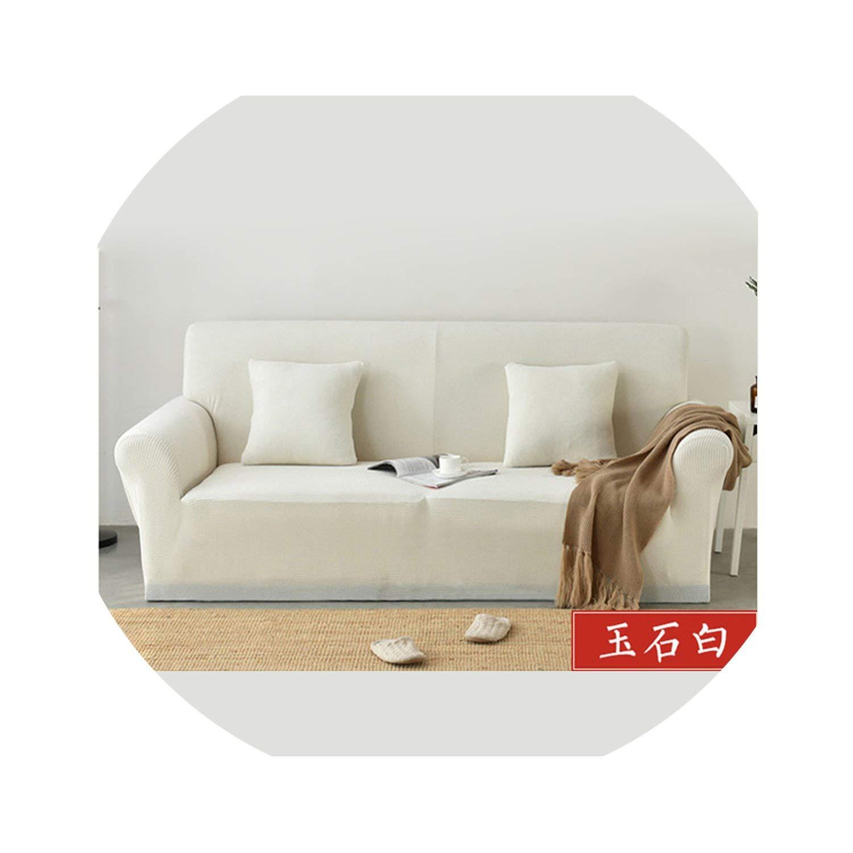Amazon.com: ACOMY Sofa Covers for Living Room Thick Plaid ...