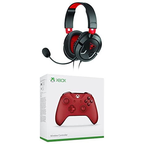 Turtle Beach - Auricular Recon 50 (PS4) + Microsoft - Mando Inalámbrico, Color