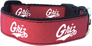 product image for NCAA Montana Grizzlies Dog Collar (Team Color, Large)