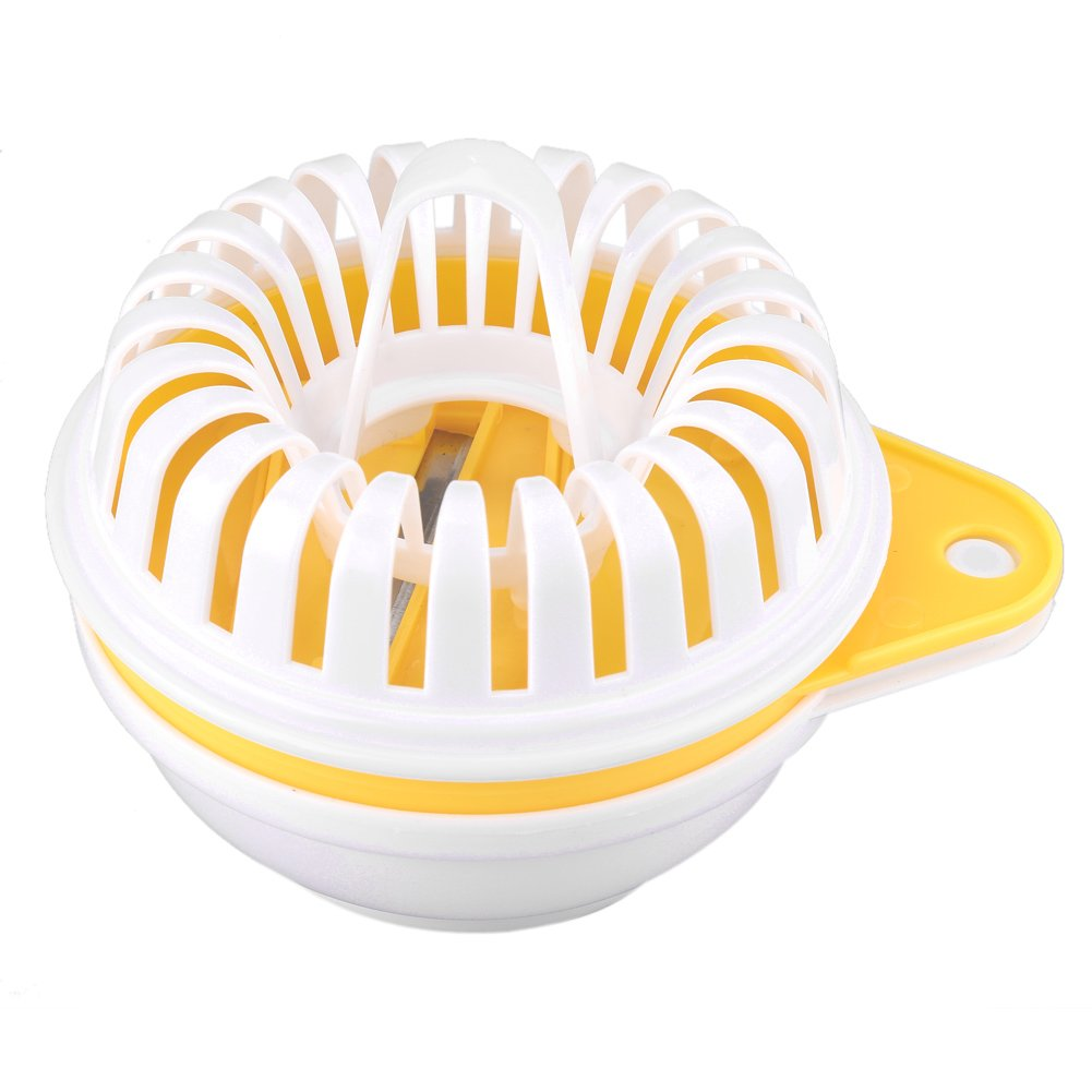 Microwave Potato Chip Maker for Homemade DIY Potato Chips with Potato Slicer, Snack Maker Set Baking Tray Home Accessories Utensil Kitchen Tools Haofy