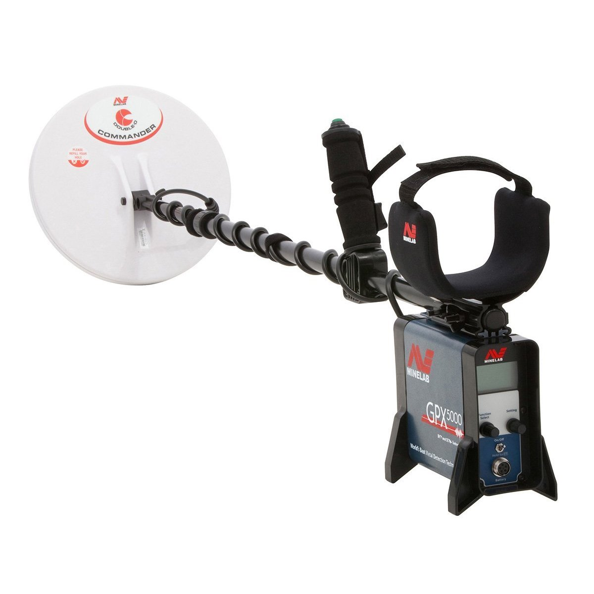 Amazon.com : Minelab GPX 5000 Metal Detector Special with PRO-SONIC Wireless Audio System : Garden & Outdoor