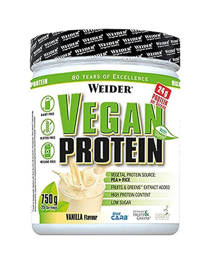 Weider Vegan Protein Sabor Piña Colada - 750 gr: Amazon.es: Salud y cuidado personal