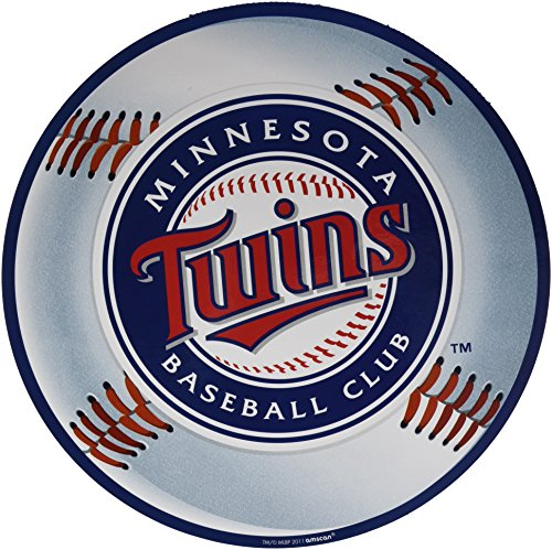 amscan Minnesota Twins Major League Baseball Collection Cutouts, Party Decoration, 6 Ct. - Minnesota Twins Decorations