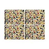 Pimpernel Dancing Branches Placemats - Set of 4 (Large)