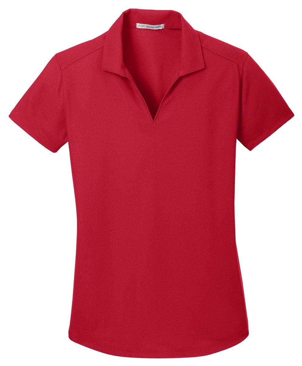 Port Authority Ladies Dry Zone Grid Polo, Engine Red, X-Large