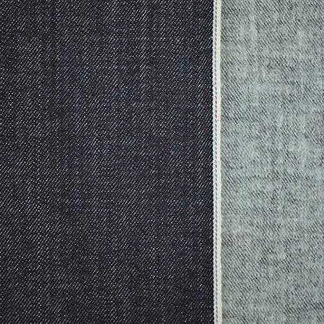 The Yard - Tela de franela de algodón japonés, color azul marino ...