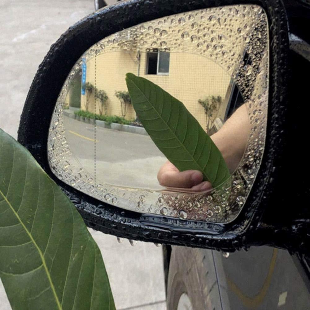 RENNICOCO Anti-Brouillard Transparent Voiture r/étroviseur Miroir fen/être Protecteur Accessoires de Film Miroir /étanche