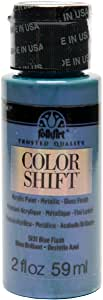 FolkArt Color Shift Acrylic Paint in Assorted Colors (2 ounce), 5131 Blue Flash