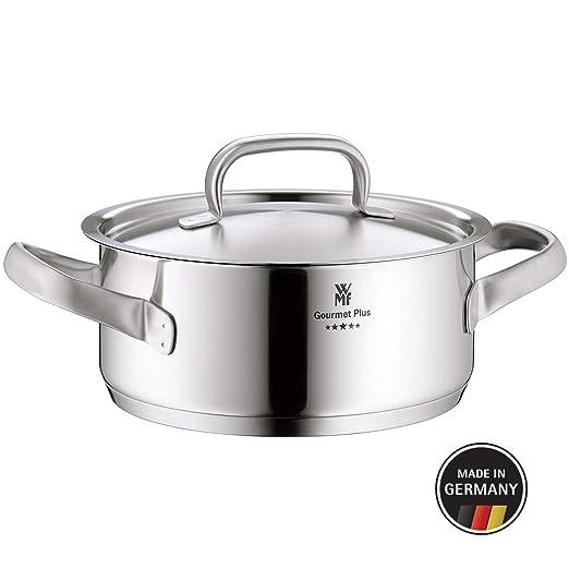WMF Gourmet Plus Cacerola, Acero Inoxidable, 16 cm