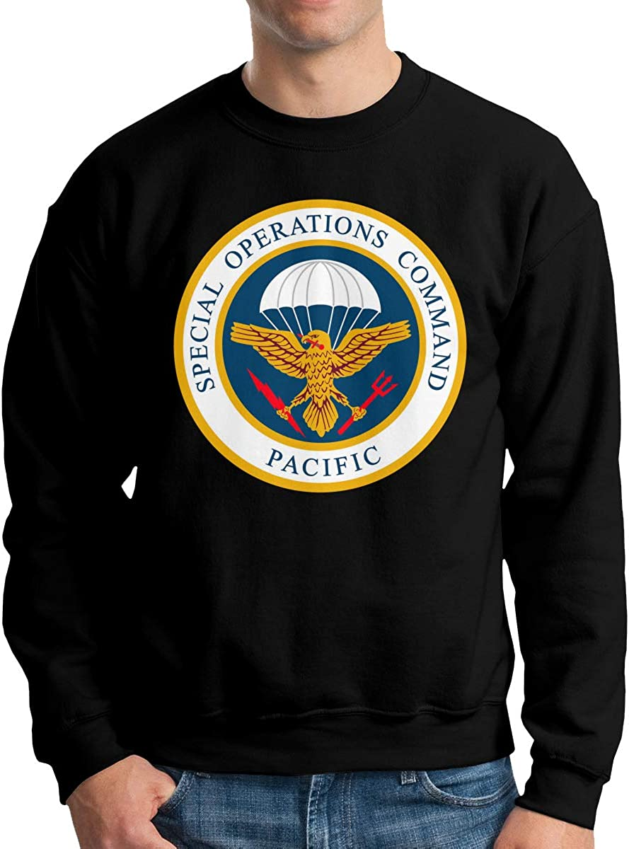 Special Operations Coand Pacific Mens Long Sleeve Crew Neck Pullover
