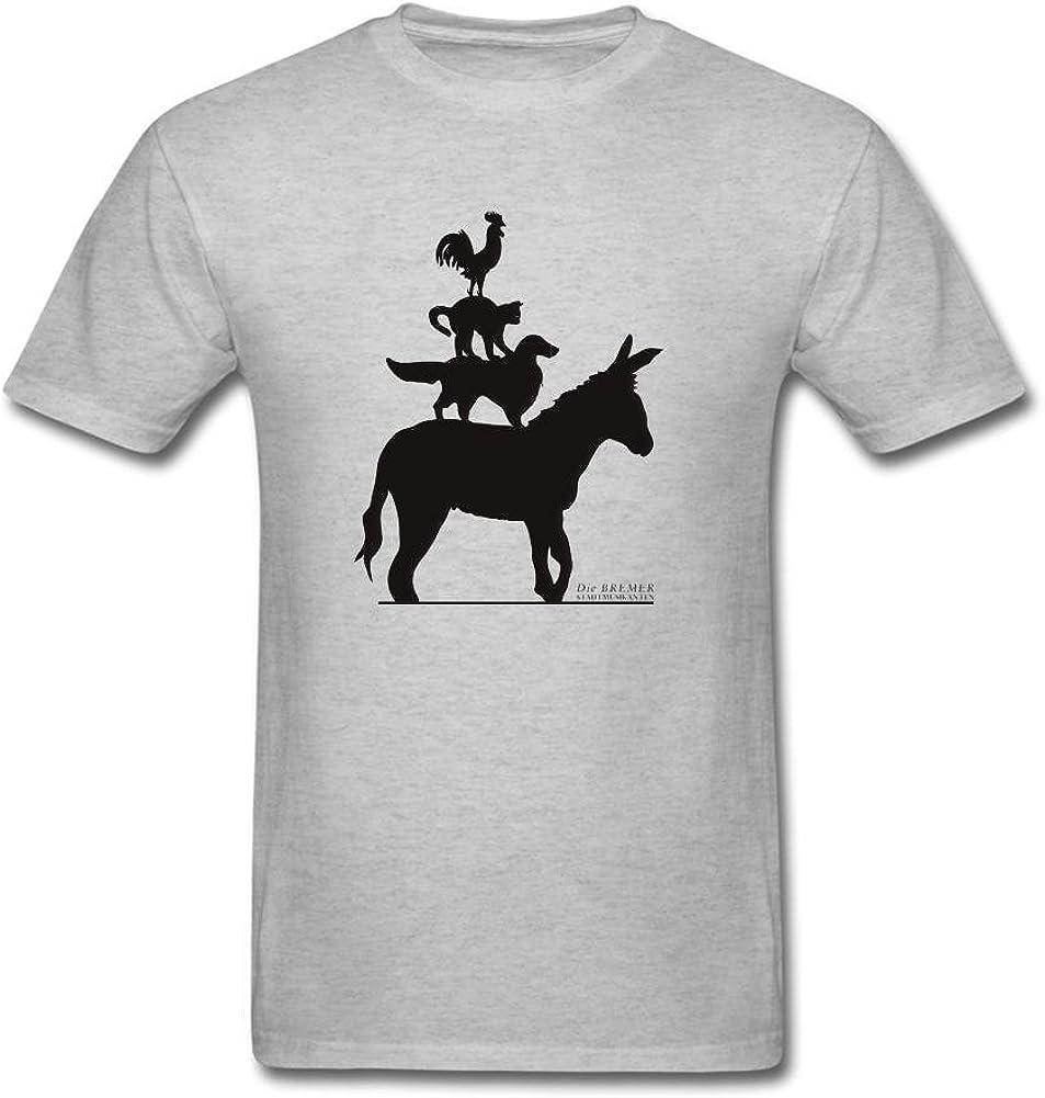sungboys Hombres de la música ciudad camiseta de manga corta T