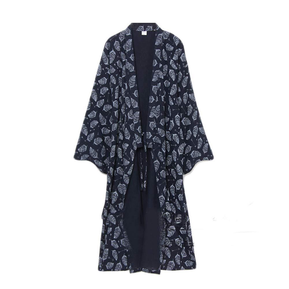 Männer Yukata Robes Kimono Robe Khan Gedämpfte Kleidung Pyjamas # 07 CLO-FIONA1045704-195