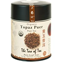 The Tao of Tea, Topaz Puer Pu-er Tea, Loose Leaf, 3.5 Ounce Tin