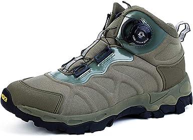 Hombres militar selva botas, botas de Reacción Rápida de excursión el zapato, zapatos transpirables de combate, Escalada seguridad al aire libre ...