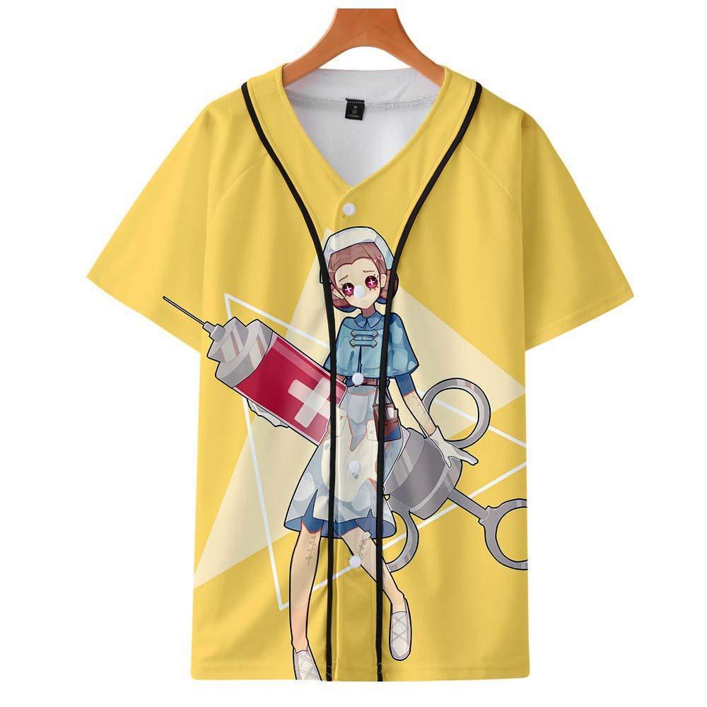Game Identity V Peripheral 3D Digital Printed Slim Baseball Shirt Polyester
