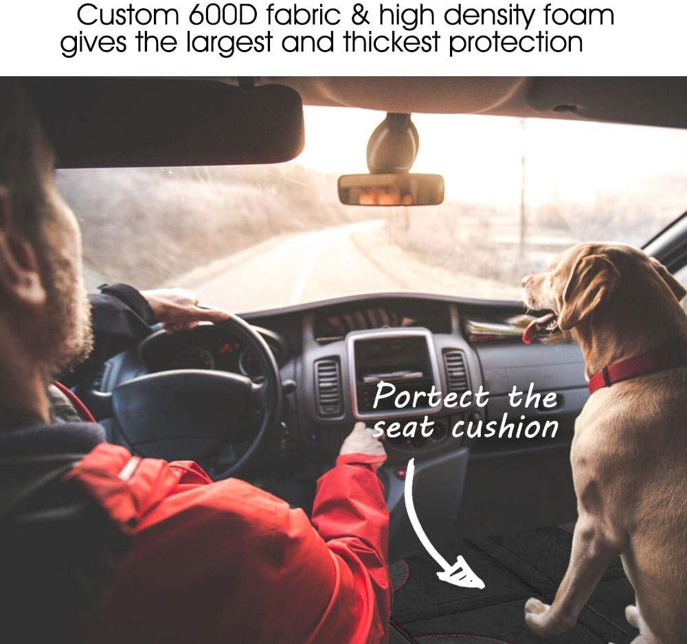 AODOOR Prot/èges Protecteur de si/ège de voiture Protecteur Siege Bebe en Couvre Auto pour B/éb/é Si/èges Enfant avec Poches Organisateur Couverture Si/ège Protector Protecteur de Si/ège de Voiture