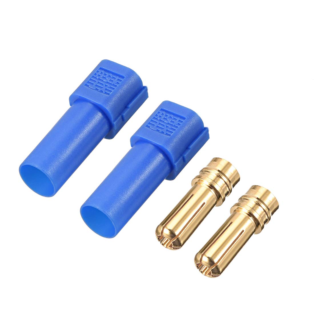 uxcell 3 Pairs 6MM Bullets Connectors Banana Plugs Male Female Plug Set with Housing #0186