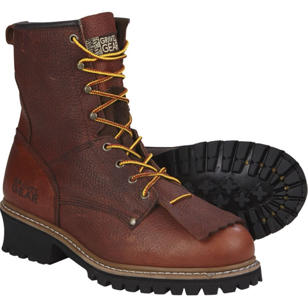 Gravel Gear 8in. Logger Boot (9)