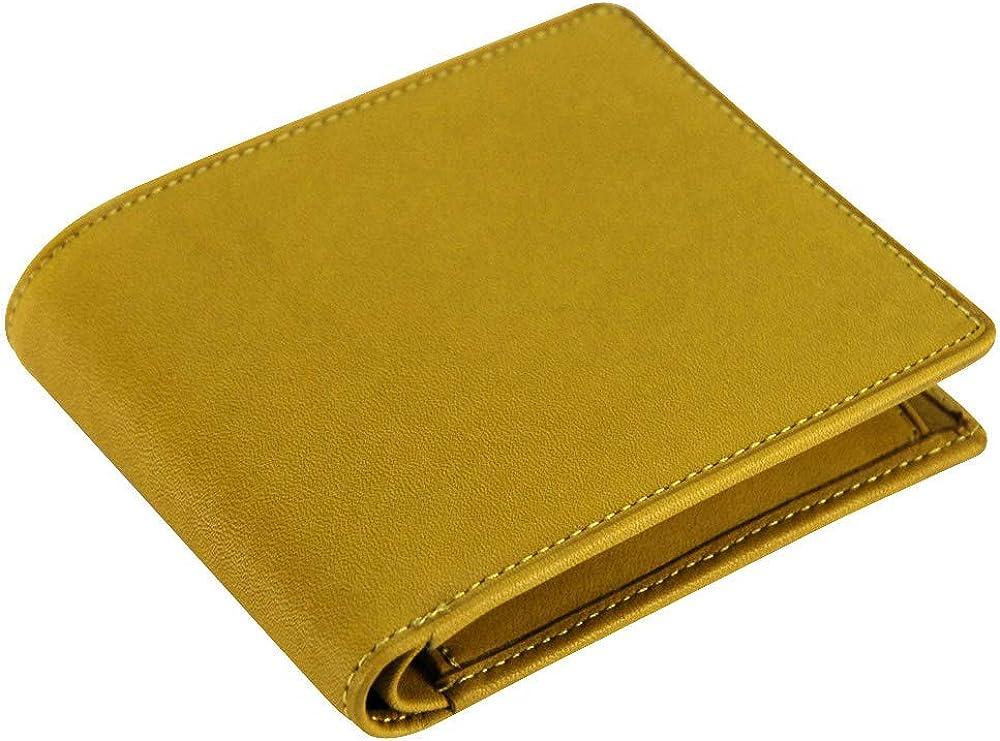 [ミズノ] 二つ折り財布(スムース) 1GJYG00900 47:ナチュラル
