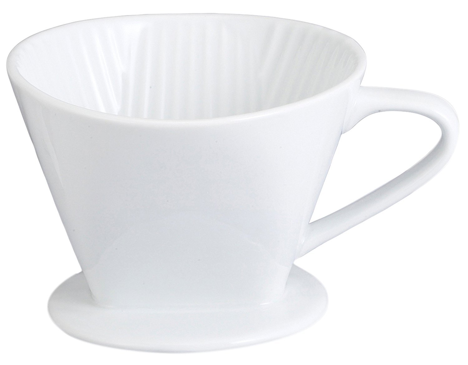 HIC Harold Import Co. NT1052 coffee filter cone No.4 White