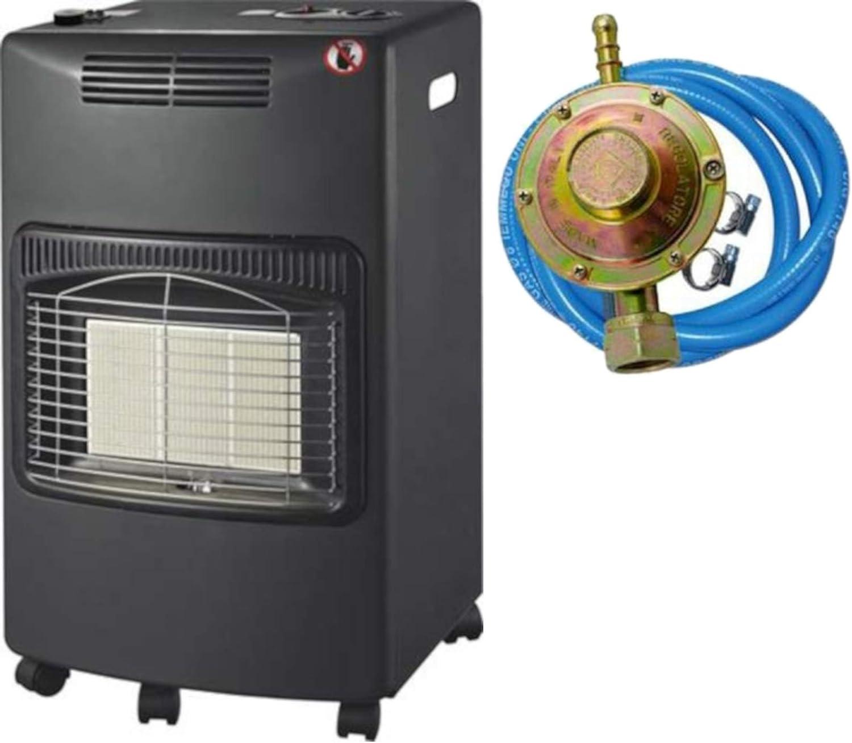 estufa Gas infrarrojos ventilada 4,2 KW + calefactor Domus Kali ...