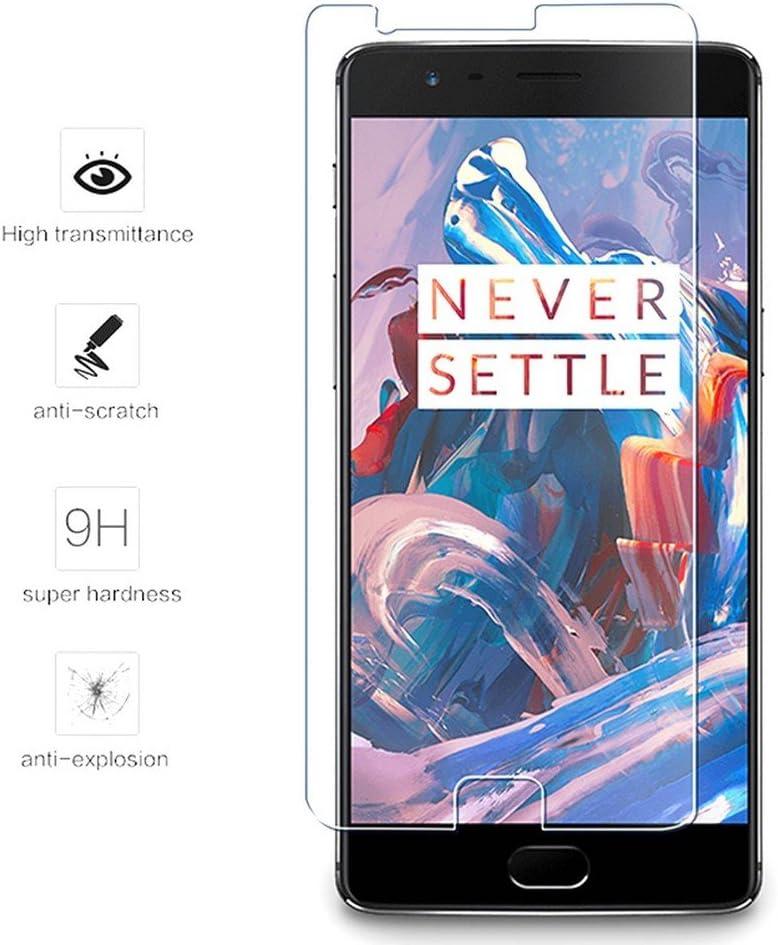 Tumundosmartphone Protector Pantalla Cristal Templado para ONEPLUS 3 / 3T Vidrio: Amazon.es: Electrónica