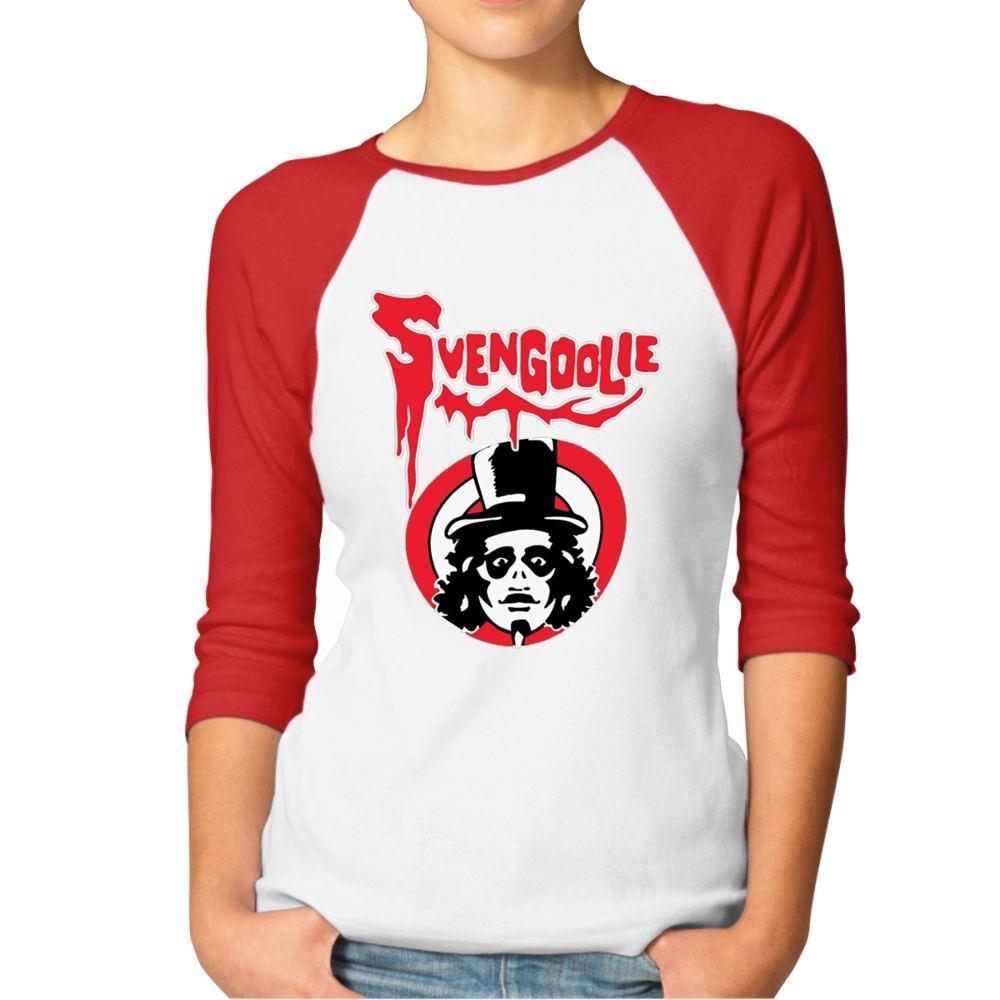 Svengoolie Raglan Shirt Womens Baseball T Shirt-T-Shirt