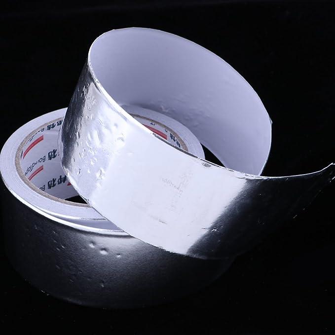 Wasser-Heizung-Rohr-Reparatur-Band K/üchentapete wasserdicht /ölbest/ändig feuchtigkeitsbest/ändige selbstklebende K/üchenschrank-Auflage-Aufkleber Aluminiumfolie-Klebeband