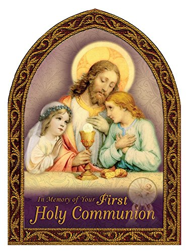 Trademark Stationary (First Holy Communion Deluxe Greeting Card 5½