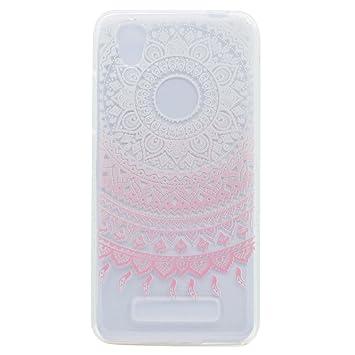 case cover para ZTE Blade A452,Crisant modelo rosado Diseño ...
