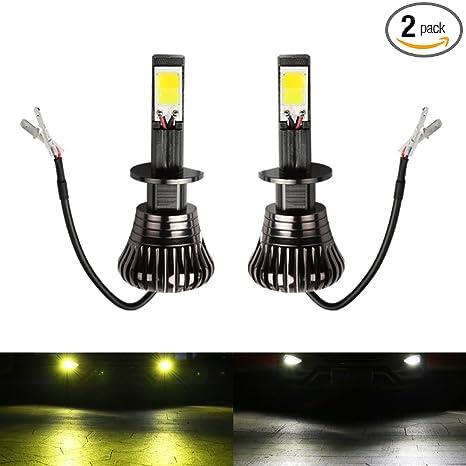 Amazon.com: Bombillas de luz antiniebla para coche, color ...