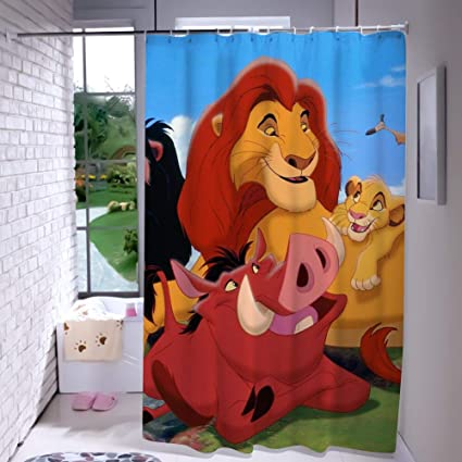 Amazoncom Disney Collection Shower Curtain List Of The